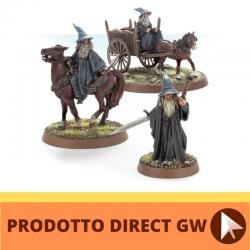 Gandalf the Grey a piedi,...